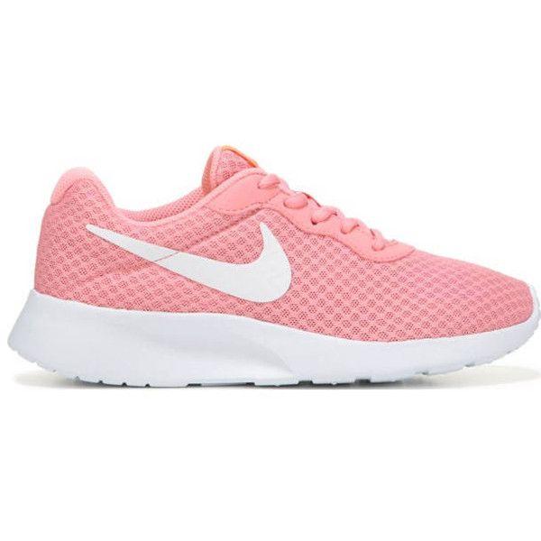 Swarovski Nike Women's Tanjun Pink Lava Glow Blinged With Swarovski...  ($129)