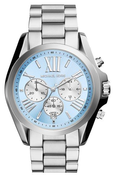 Michael Kors Bradshaw Chronograph Bracelet Watch 43mm Available At