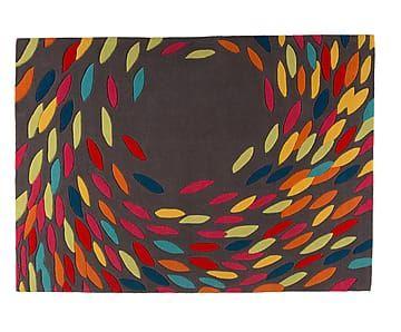 Tappeto taftato a mano Timeless grigio/multicolor