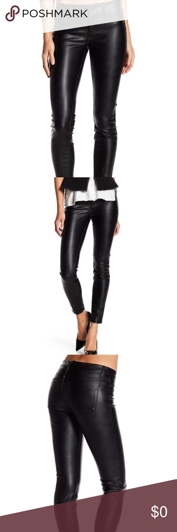 Blank Nyc Vegan Leather Pants Nwt Leather Skinny Jeans Leather Pants Fashion Tips