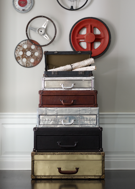 Fancy - Stacked Suitcase Chest