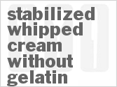 Stabilized Whipped Cream Without Gelatin #stabilizedwhippedcream Stabilized Whipped Cream Without Gelatin #stabilizedwhippedcream