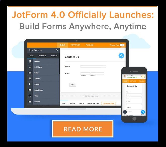 The Easiest Online Form Builder JotForm Software Pinterest - Service Forms In Pdf