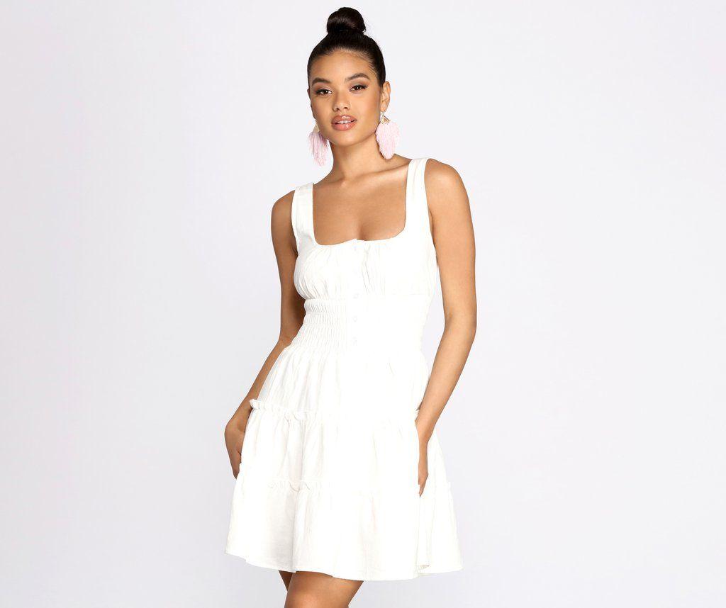 Boho Breeze Tiered Mini Dress Dresses Mini Dress Buy Dress [ 858 x 1024 Pixel ]