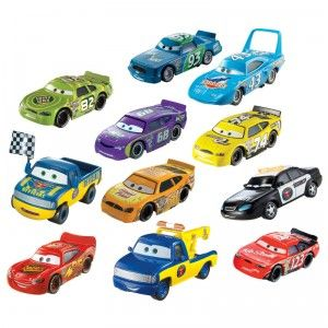 Disney World Of Cars Piston Cup Diecast Vehicles From Mattel