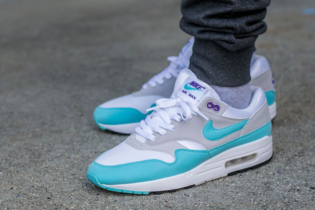achat nike air max 1 aqua purple 2017