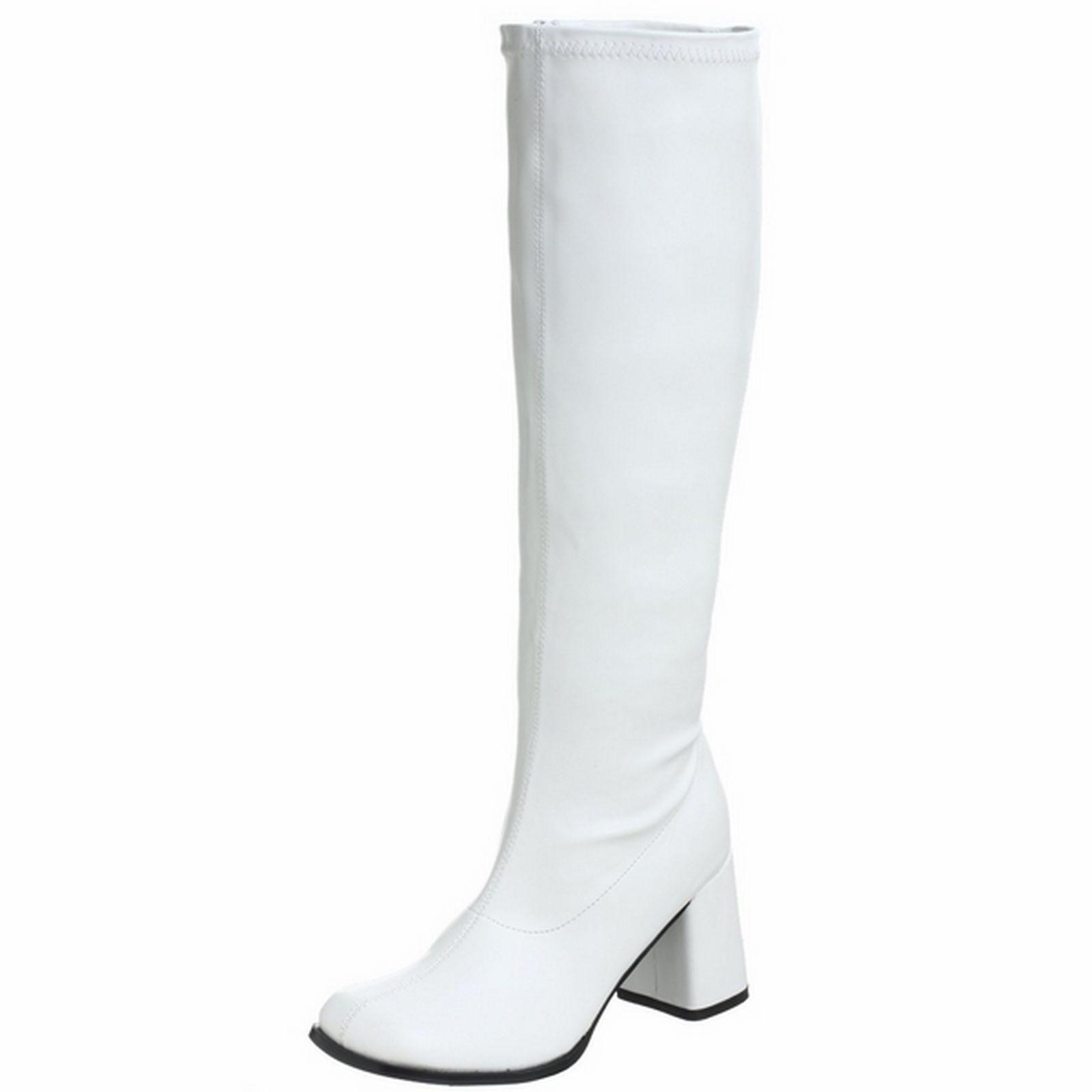 94d94cc17f5 Details about FUNTASMA Retro Stretchy Wide Calf Knee High Boot GOGO ...