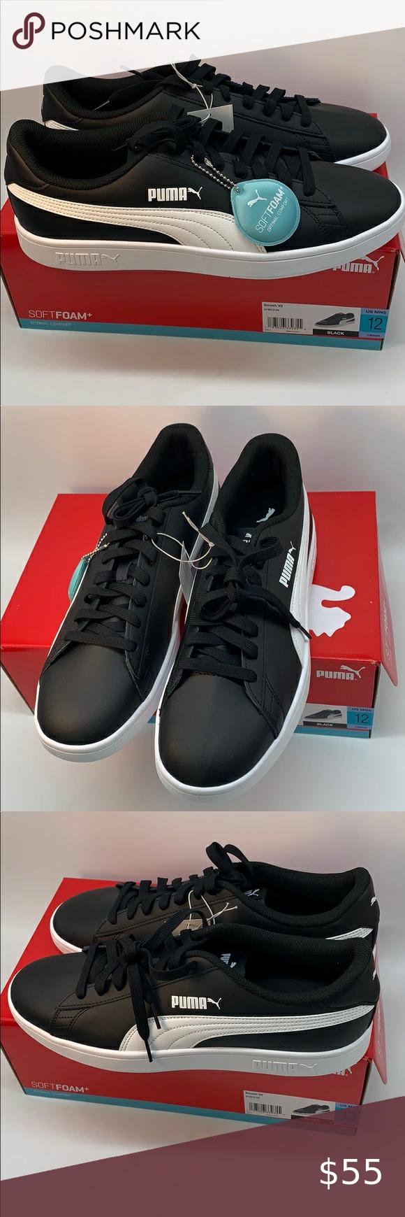PUMA Menś Smash v2 Sneaker Size 12 in