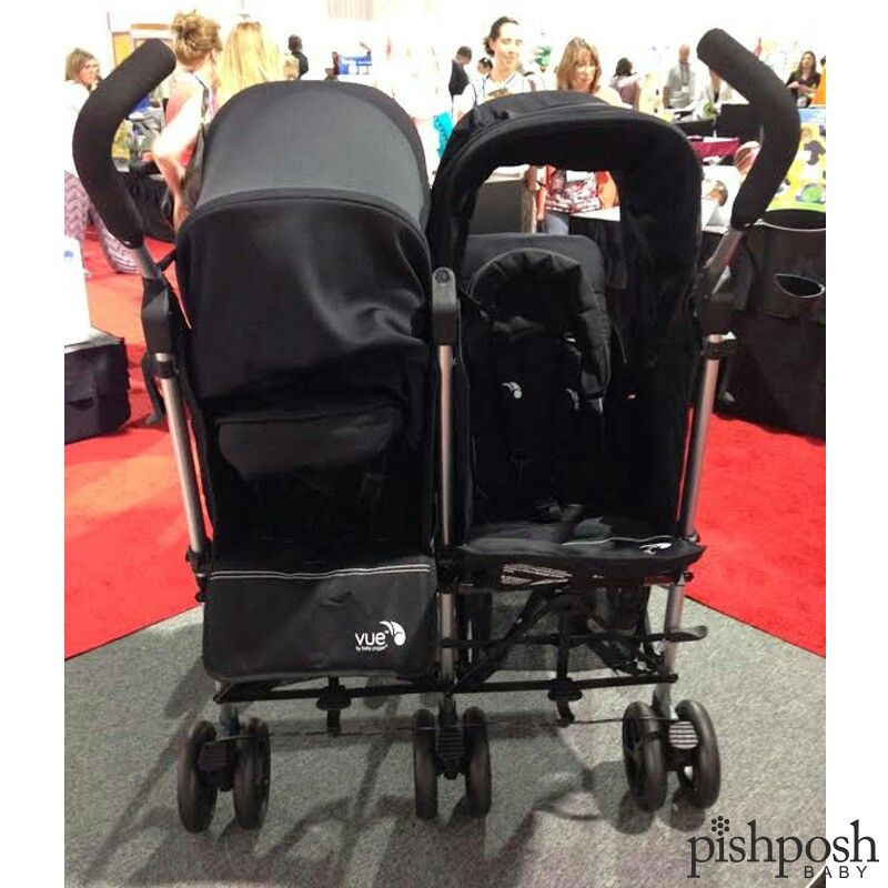 YES - you are seeing double...the Vue double stroller by @babyjogger, that is!! We are so excited about this. The Vue is the very first umbrella stroller with reversible seating, so natch we are going bananas for their double!! Configure your kids to your heart's content: baby faces you, while toddler faces parent.