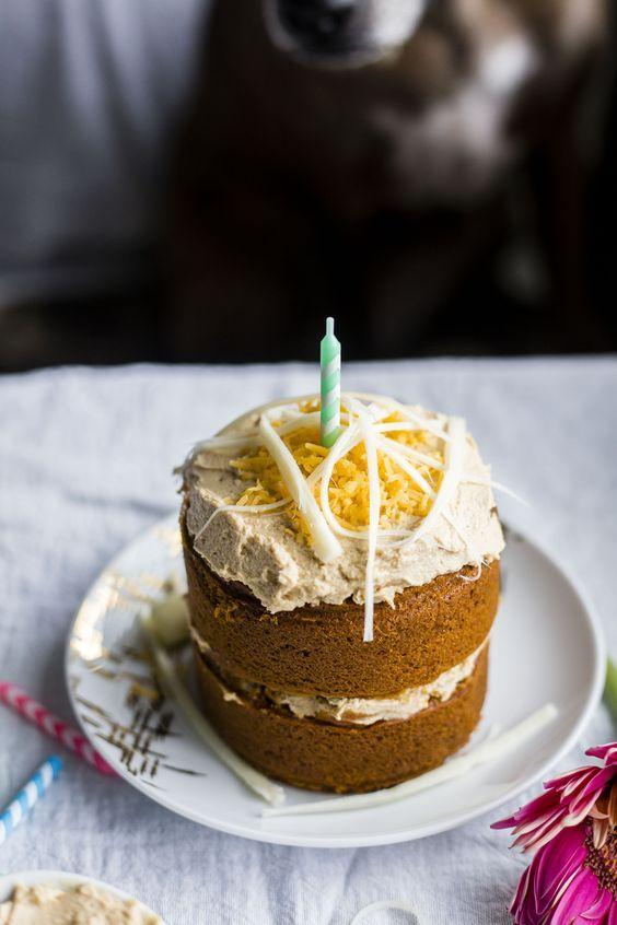 Tasty Food Recipes Mini Dog Birthday Cake