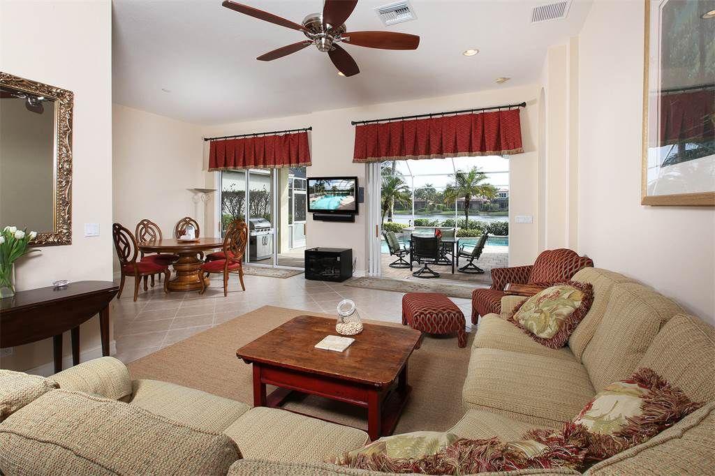Single Family Home for Sale at FIDDLER'S CREEK - MALLARDS LANDING 8520 Mallards Pt, Naples, Florida 34114 United States