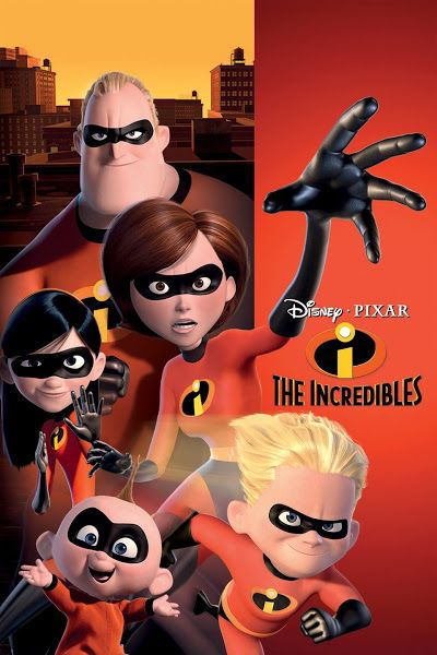 The Incredibles 2004 Dual Audio Hindi English 720p Bluray Esubs