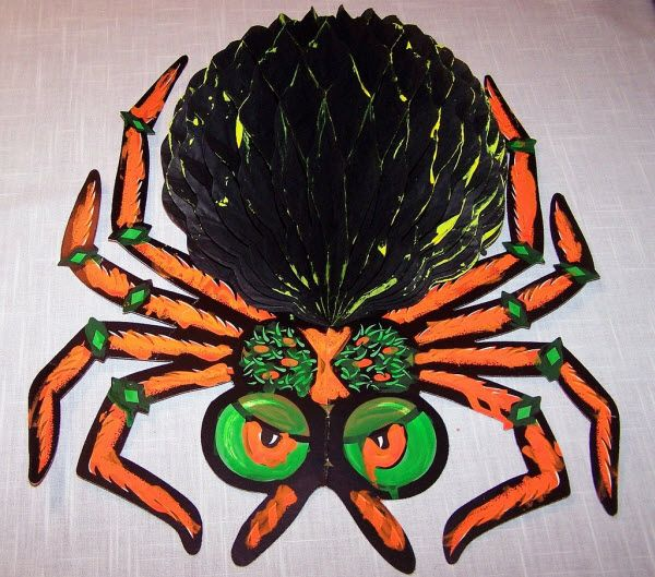 just like the title says heres an image gallery of classic vintage beistle paper halloween decorations - Beistle Halloween Decorations