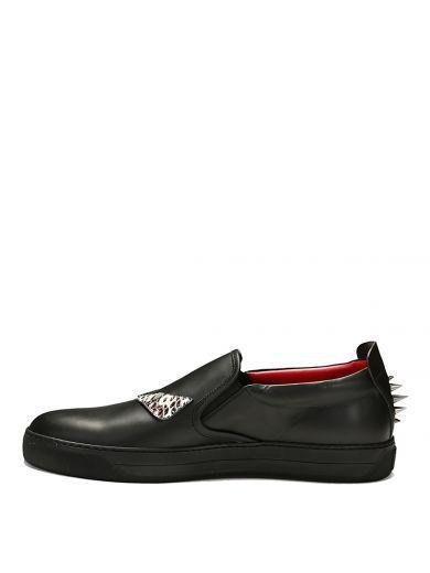 Black Bag Bugs Slip-On Sneakers Fendi V8dSn