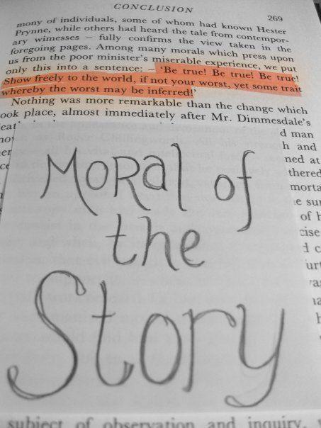 moral of the scarlet letterteamcarlisle | books, my friend