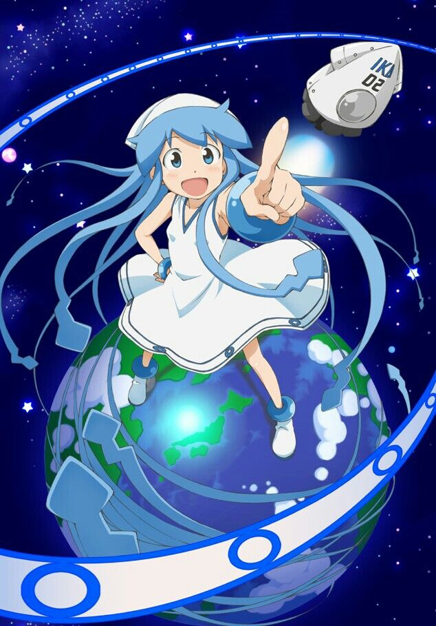 Squid Girl Squid Girl Ika Musume Anime