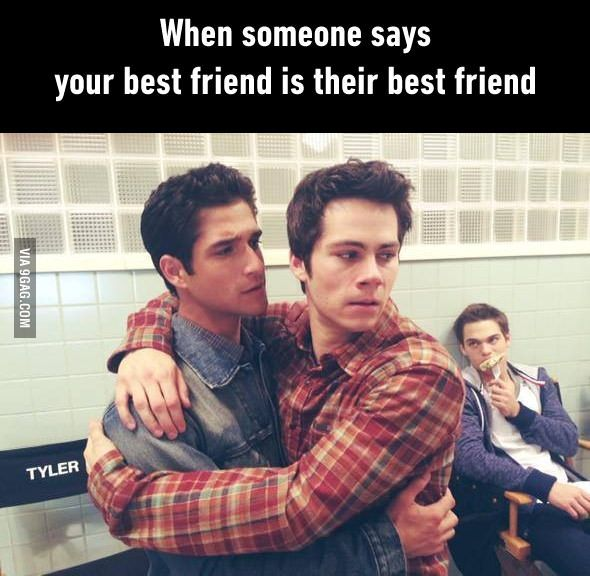 Nobody is allowed to call you their best friend!