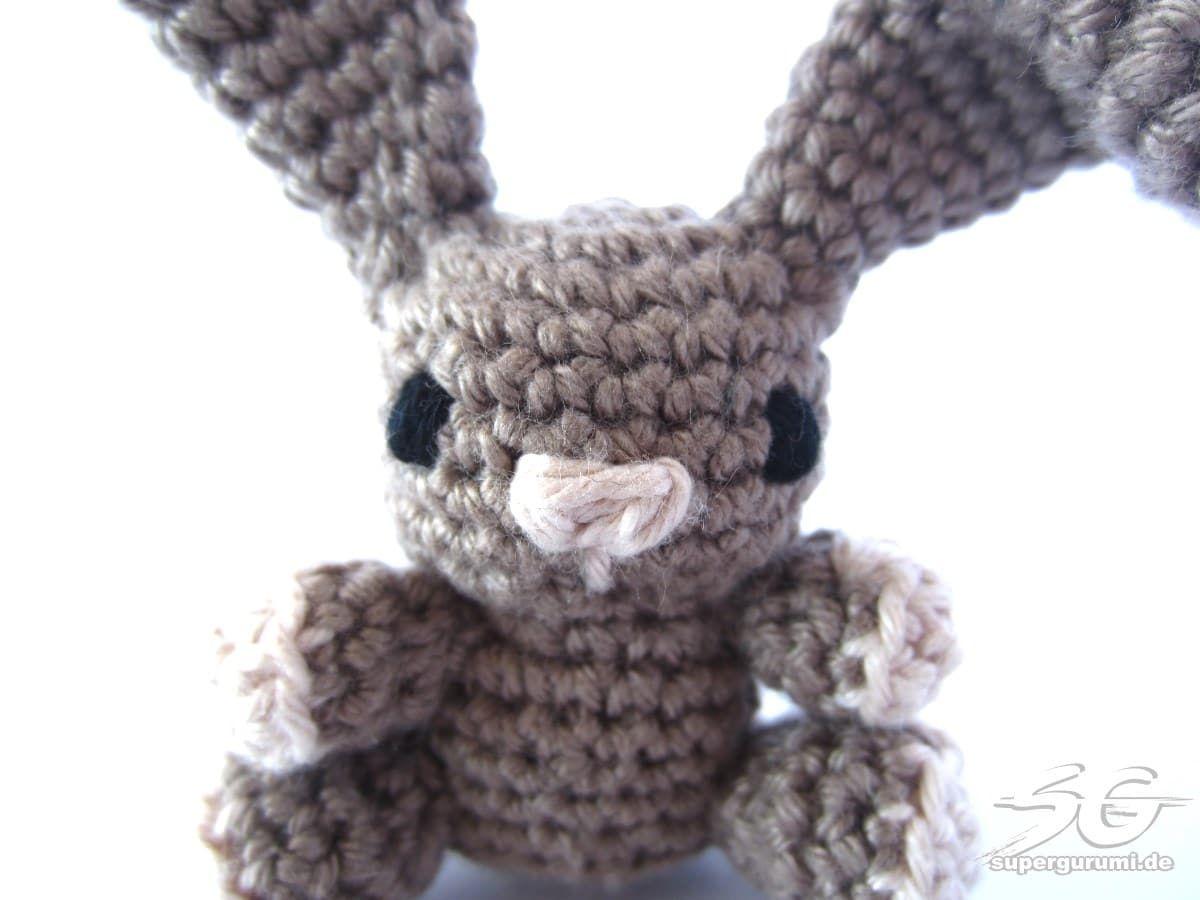 Amigurumi Hase Gesicht Sticken Häkeln Pinterest Crochet Bunny