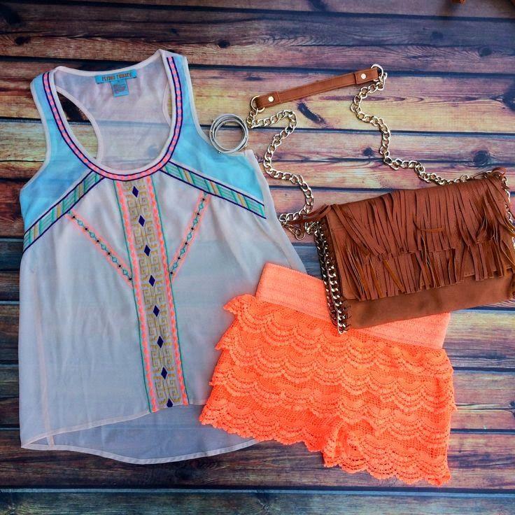 Teenage Fashion Blog: I Love This Short # Summer Teenage Outfit