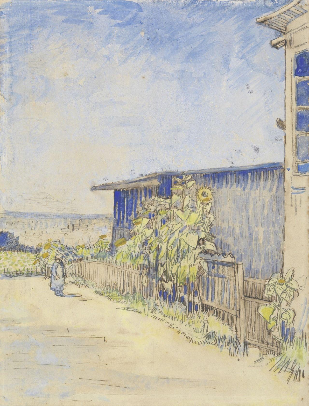 Vincent Van Gogh Van Gogh Watercolor Vincent Van Gogh Artist