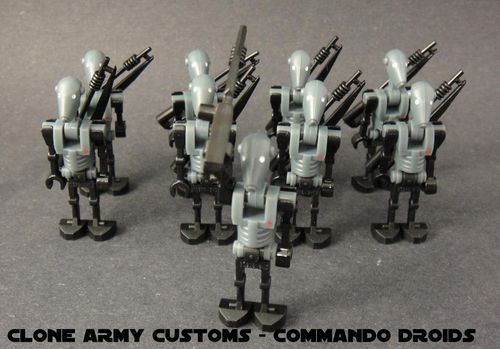 Clone Army Customs Commando Droids Star Wars Lego Star