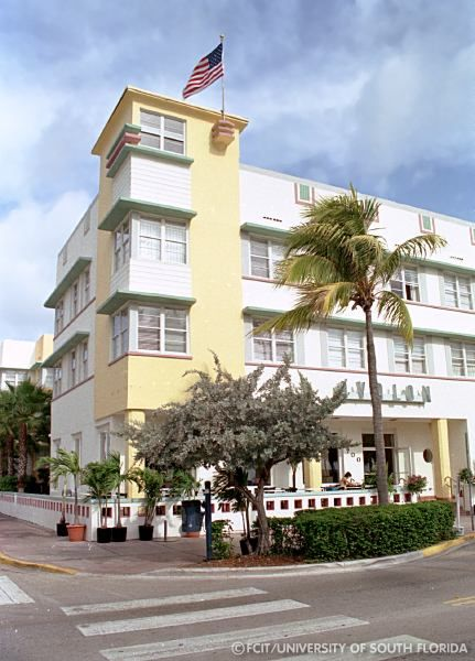 The Avalon Which Was Built In 1941 South Beach Miami