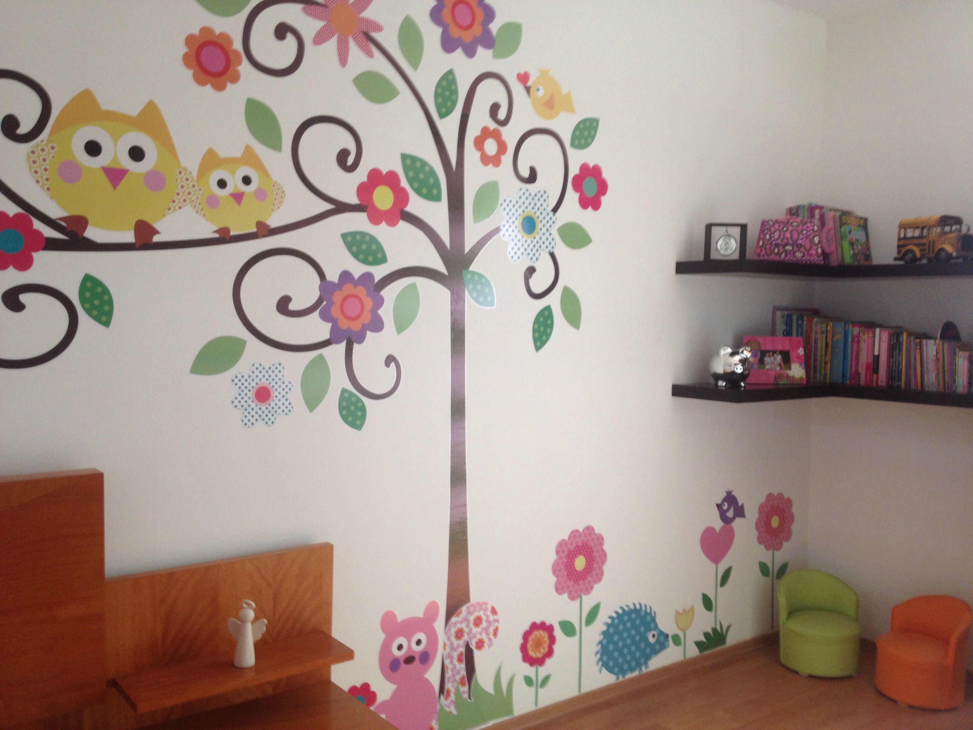 Cuarto de ni as dormitorio for Decoracion habitacion nina de 6 anos