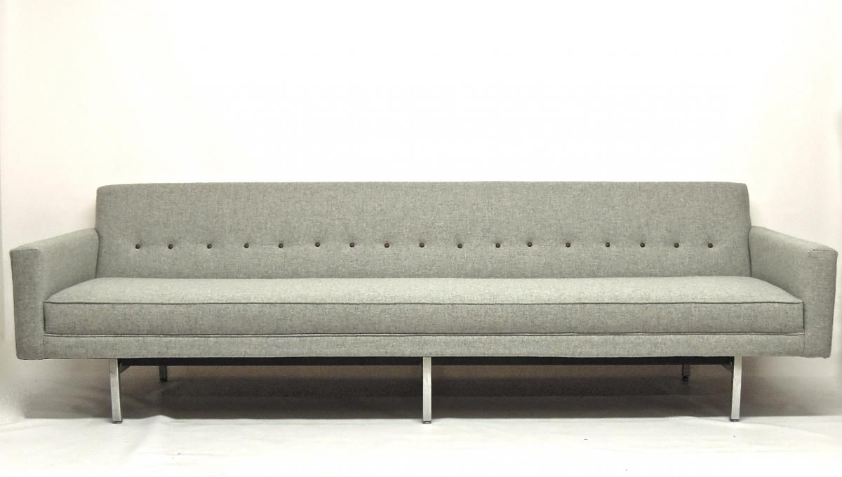 this is a mid century modern sofa it is defined by its clean lines and functionality - Mid Century Modern Furniture Nyc