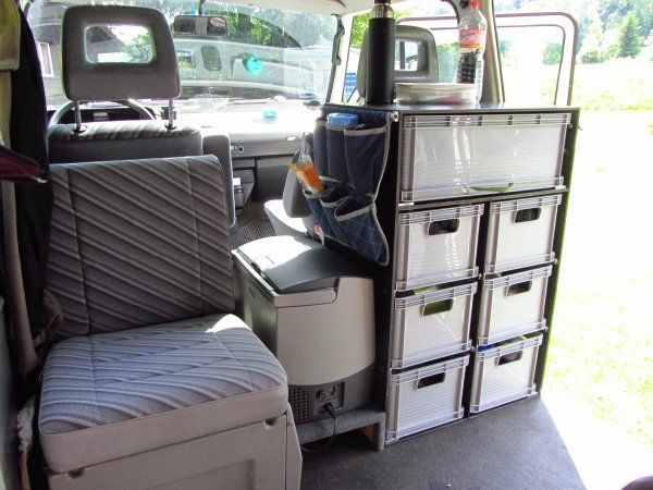 image vw bus inspiration camping ausbau campingbus. Black Bedroom Furniture Sets. Home Design Ideas