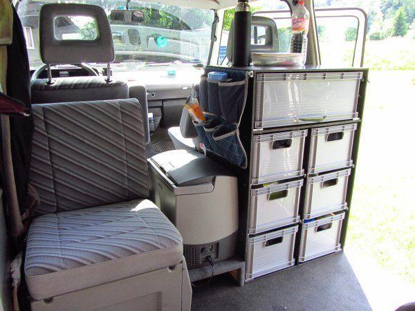 image vw bus inspiration pinterest amenagement van fourgon et am nagement. Black Bedroom Furniture Sets. Home Design Ideas