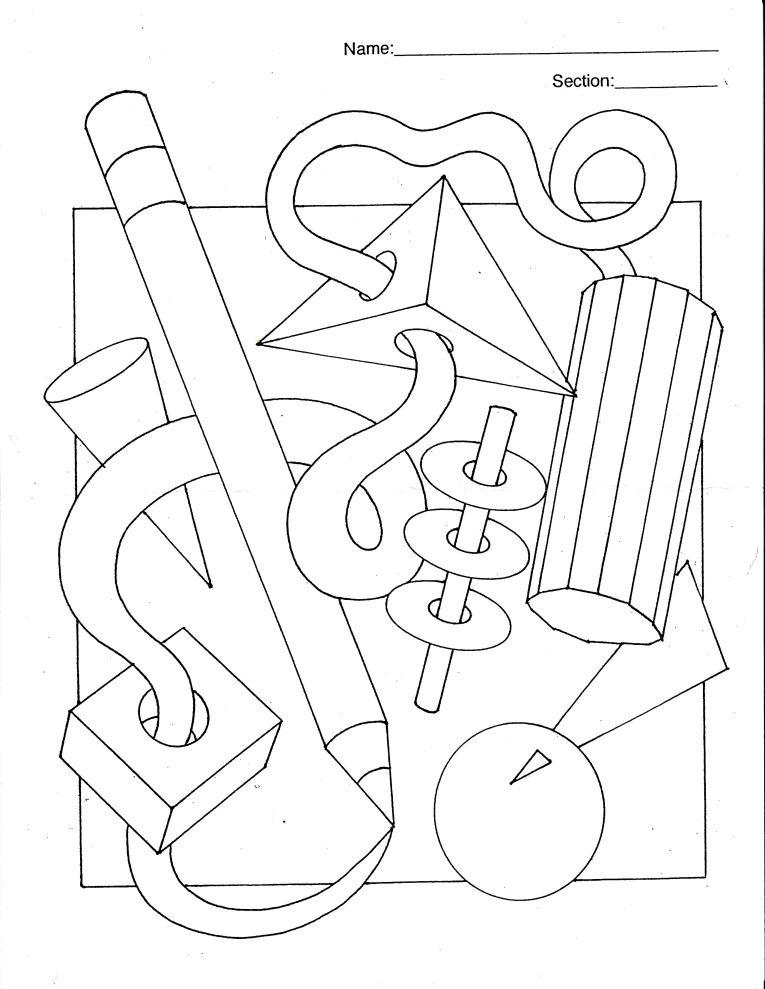 6th Grade Colored Pencil Unit Visual Art Lessons Art Worksheets 6th Grade Art 6th grade art worksheets