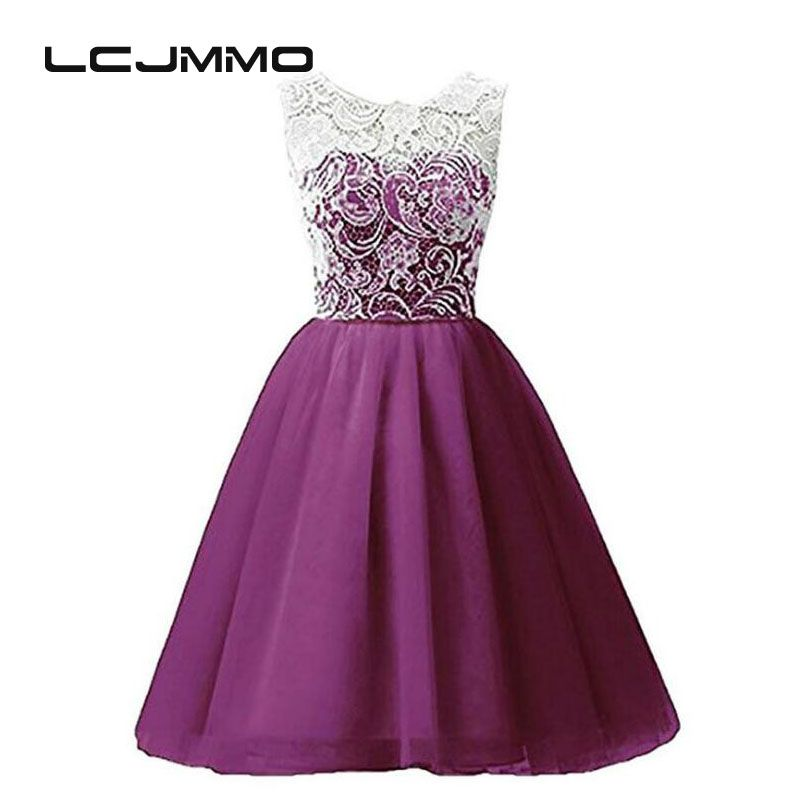 LCJMMO 4-12Y Teenage Clothes Lace Girls Dresses Multi-color ...