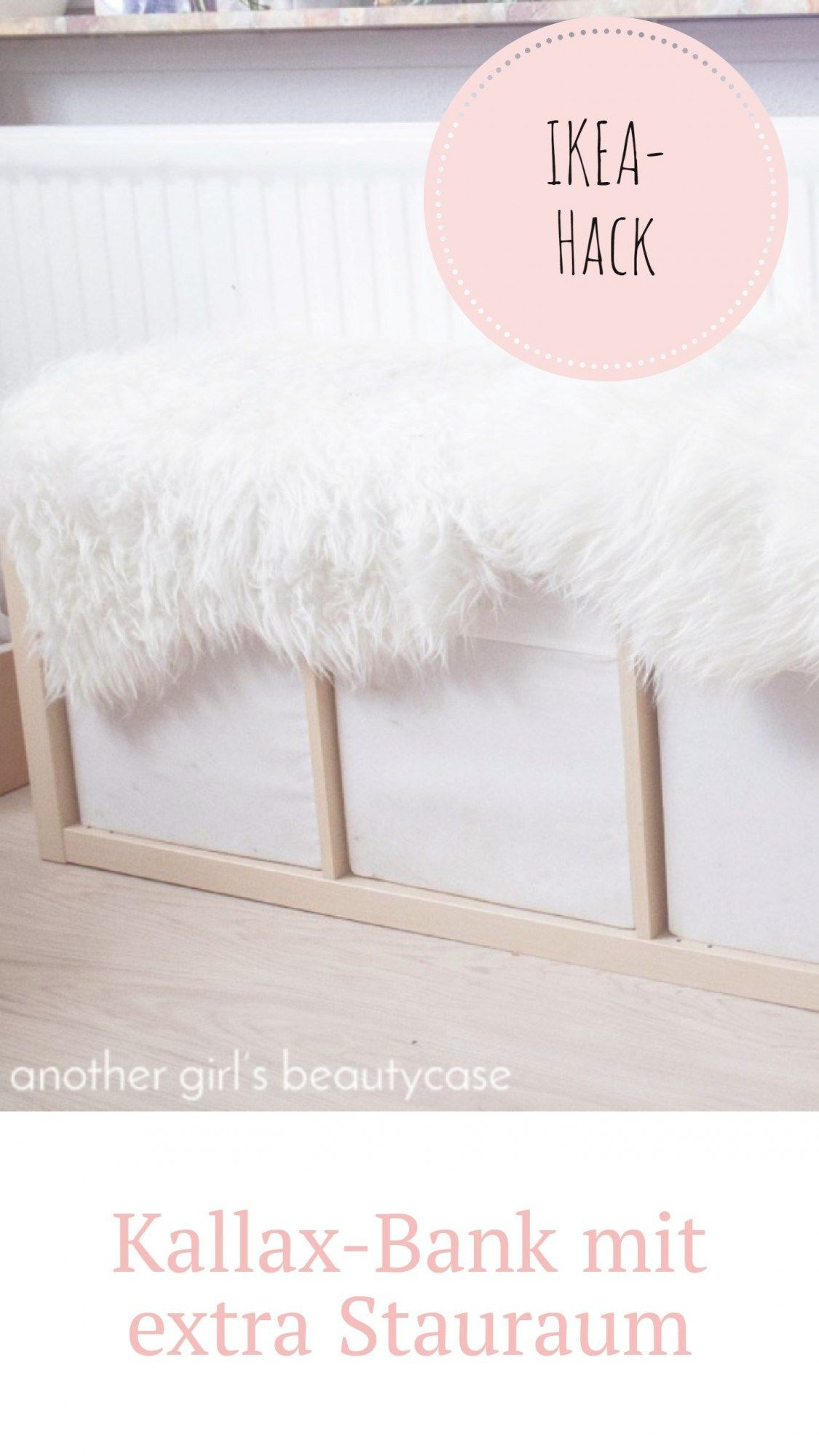 Ikea Hack Sitzbank Aus Kallax Regal Diy Ikea Hacks Pinterest