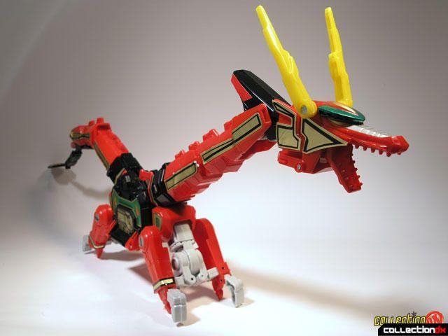 Power Rangers Red Ranger And Dragon Thunderzord Action Figure