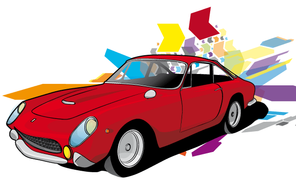 Free Red Car Vector Car Vector Red Car Best Family Cars