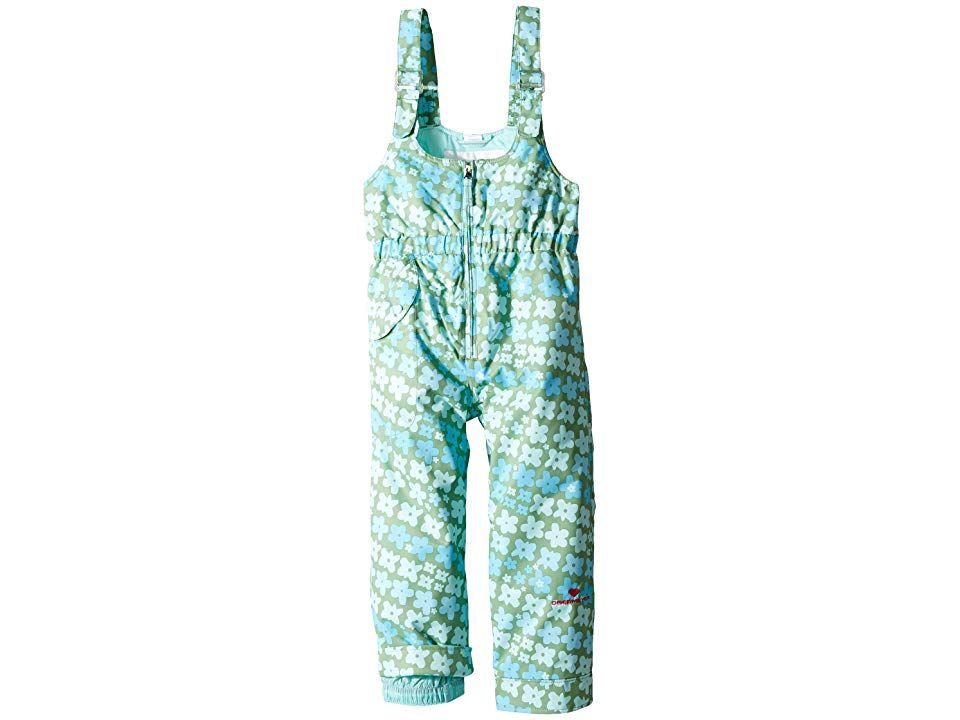 11c48a1ea Obermeyer Kids Snoverall Print Pants (Toddler/Little Kids/Big Kids)  (Flowerful Print) Girl's Jumpsuit & Rompers One Piece. ; Her smiles on the  slopes will ...