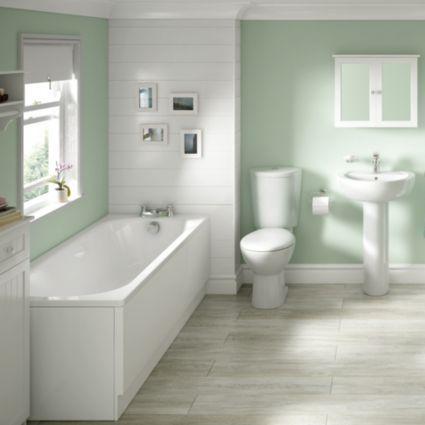 Cooke & Lewis Conway Steel Rectangular Straight Bath L1700Mm W Extraordinary B&q Bathroom Design Design Ideas