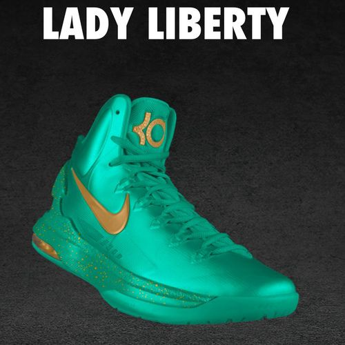 pretty nice 4bcac 9ff25 kevin durant shoes 2013 Nike KD V Lady Liberty