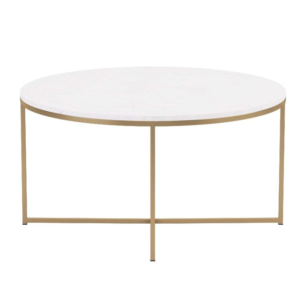 We Furniture 36 Coffee Table With Xbase Faux Marble Gold Check Out This Great Product It Is An Affiliate Lin Living Room Accent Tables Coffee Table Table [ 1000 x 1000 Pixel ]