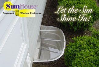 Window Well Sunhouse Basement Window Well Enclosures Basement Window Well Basement Windows Window Well