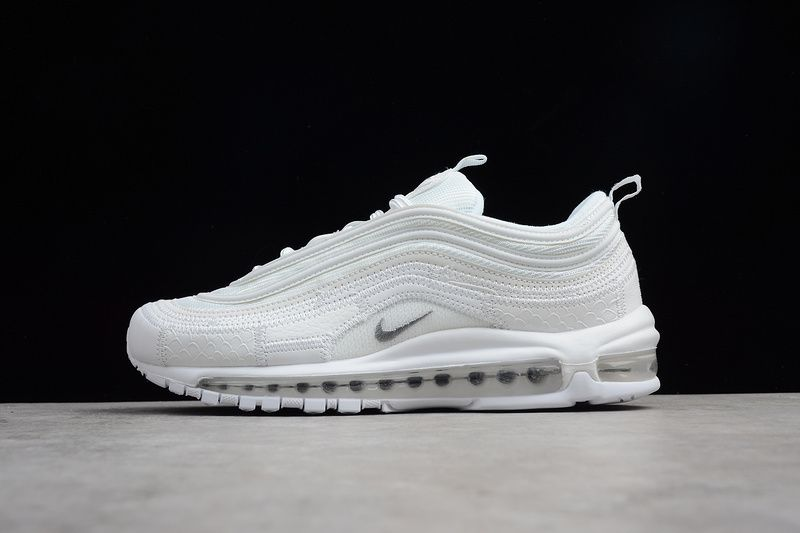 Genuine Men Nike Air Max 97 CR7 All White AQ0655 100 in 2019