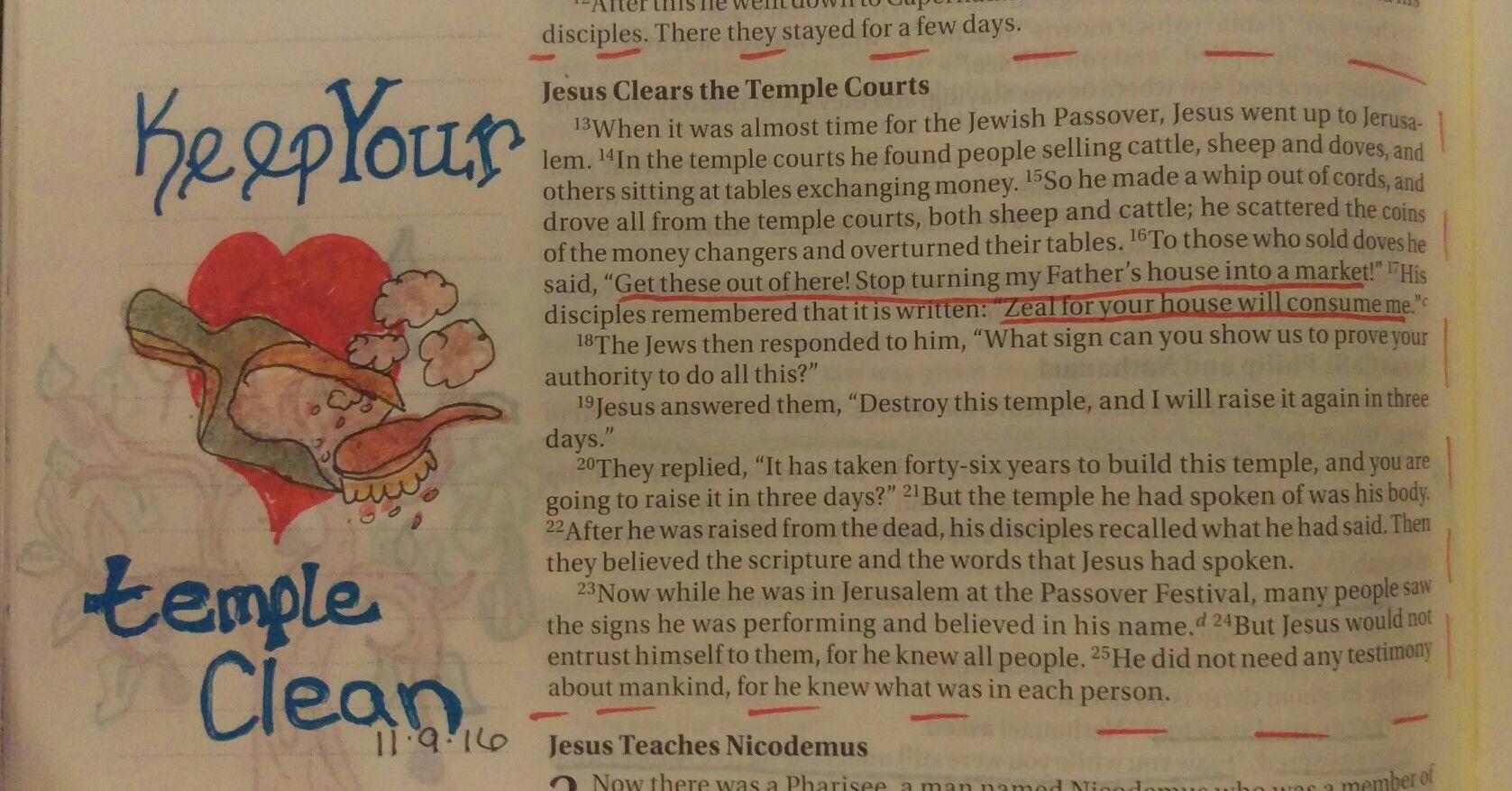 John 2:13-23, 11/9/16