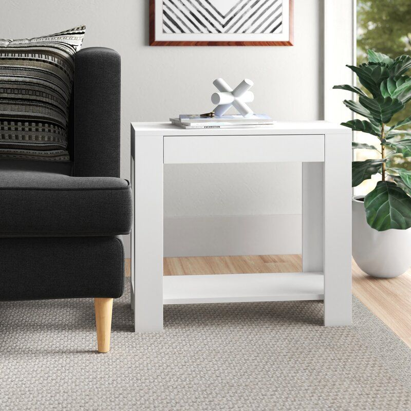 Aahil End Table With Storage End Tables With Storage End Tables Living Room Furniture Sale