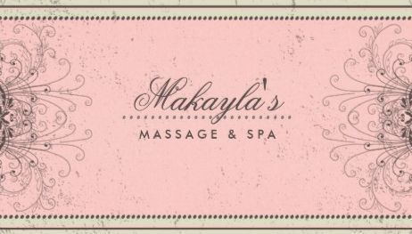 Elegant pink damask floral pattern classy retro spa business cards girly damask business cards page 1 reheart Gallery