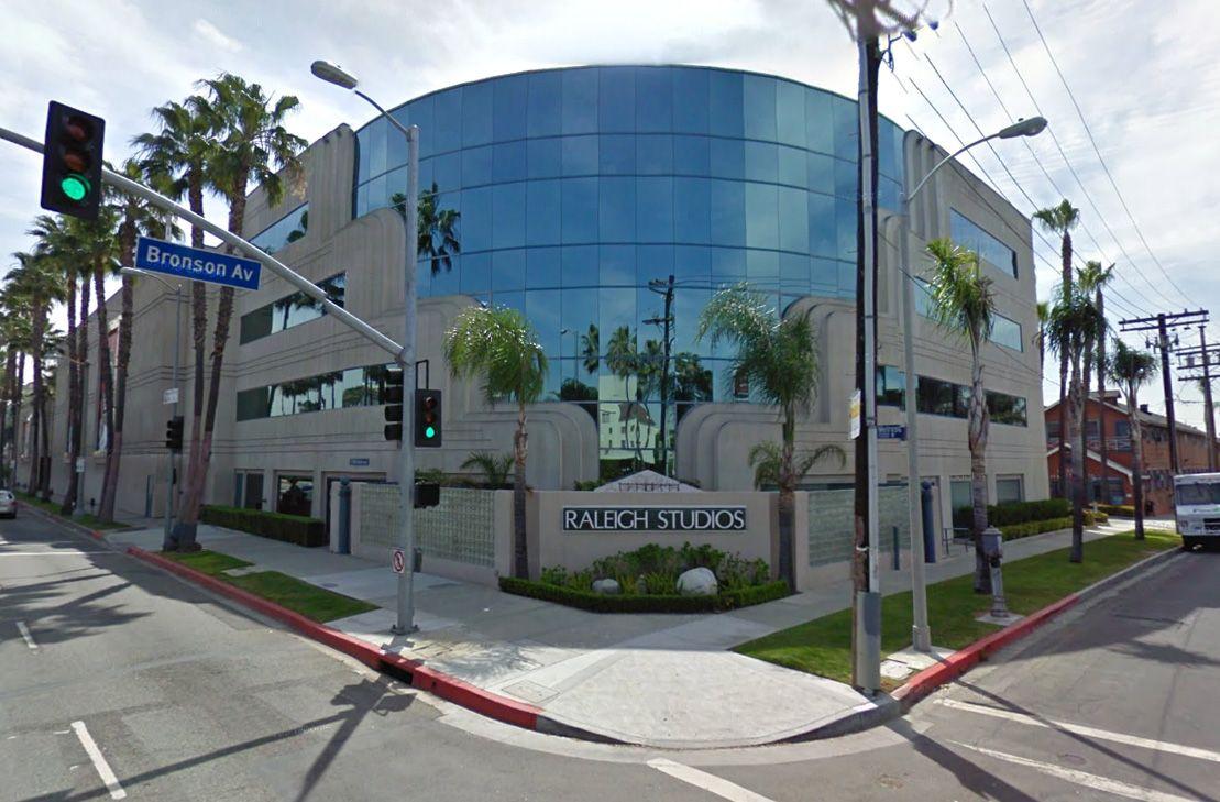 Google Maps Street View of Raleigh Studios
