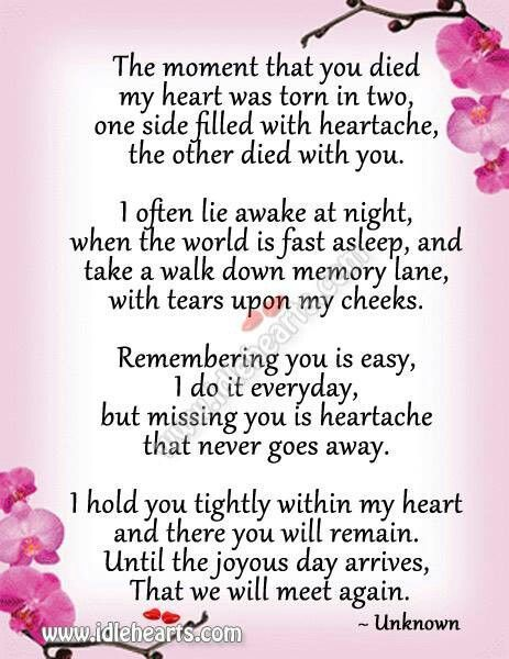 Pin By Heather Roberts On HeatherRenae Miss Mom Miss You Dad Mom Interesting Losing A Loved One Quote