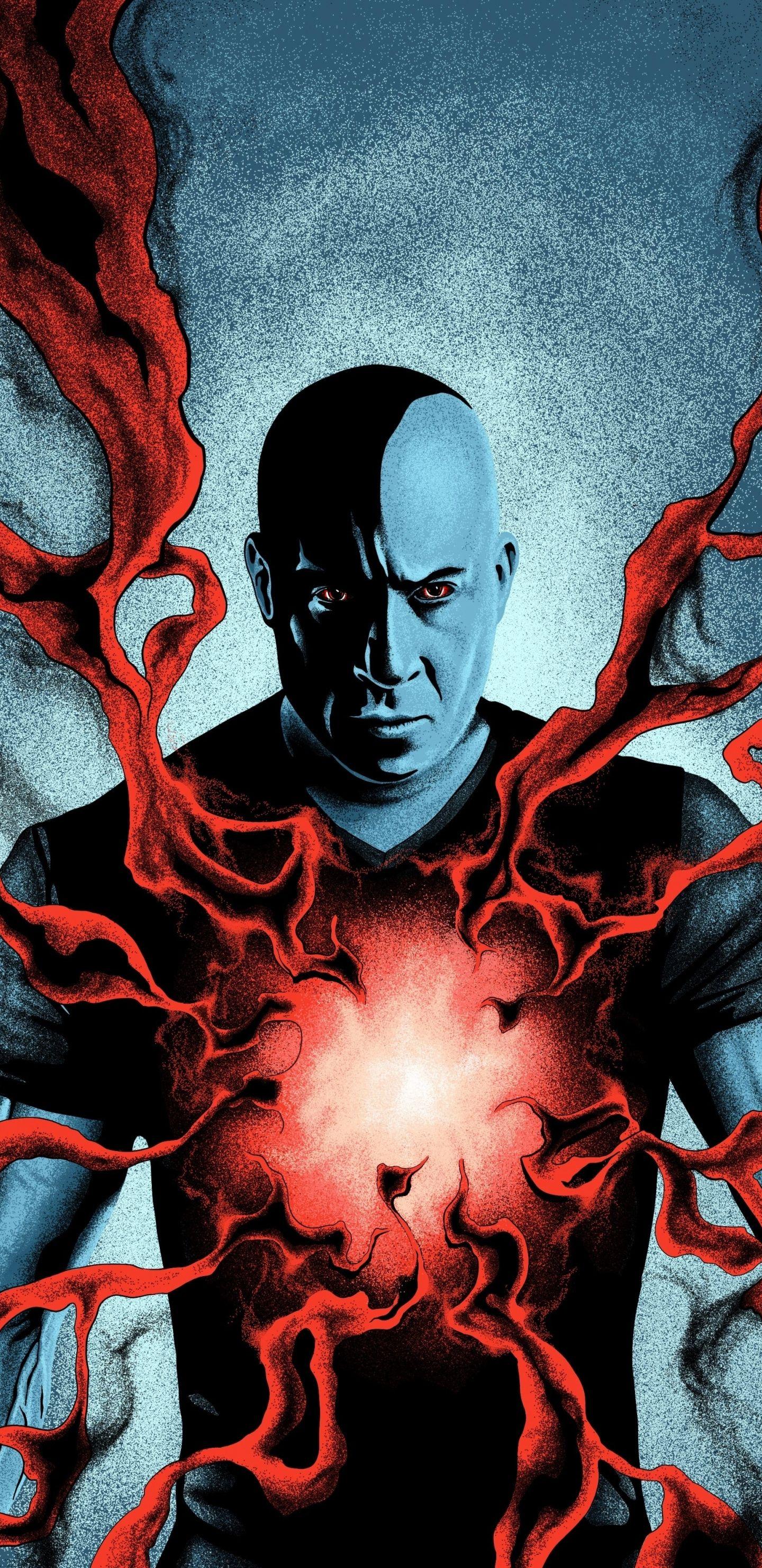 1440x2960 Vin Diesel Bloodshot 2020 Movie Art Wallpaper In 2020 Movie Art Art Movie Wallpapers