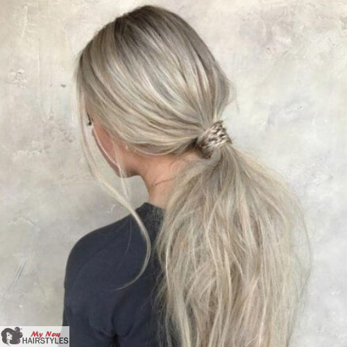 Ponytails Will Always Be In Fashion Even If You Have Short Medium Long Straight Curly Thick Or Thin Hair Yo Hair Styles Tied Up Hairstyles Fun Ponytails