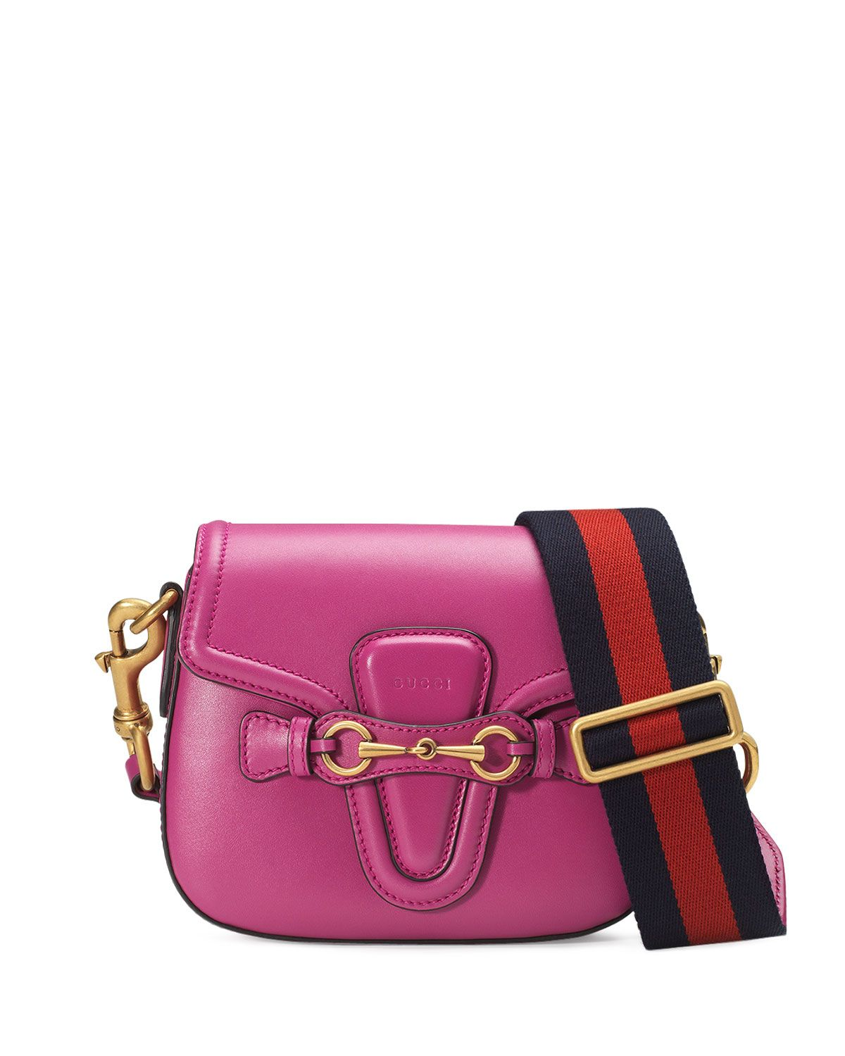 9716e3dac5 Lady Web Small Leather Crossbody Bag
