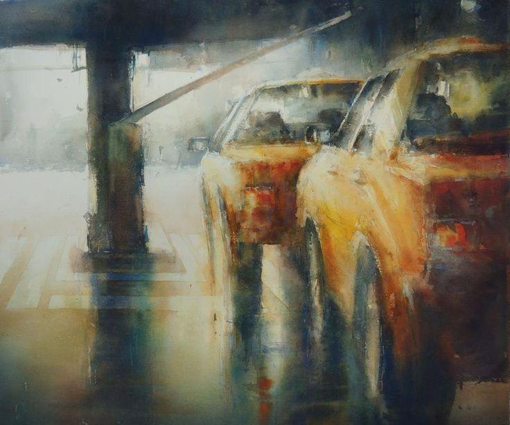 Janine Gallizia Watercolor Artist Google Zoeken Peinture